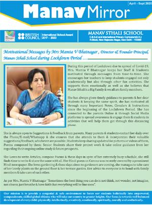Manav Mirror April-September 2020